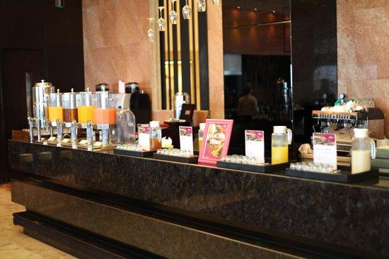 Crowne Plaza Semarang: the drinks