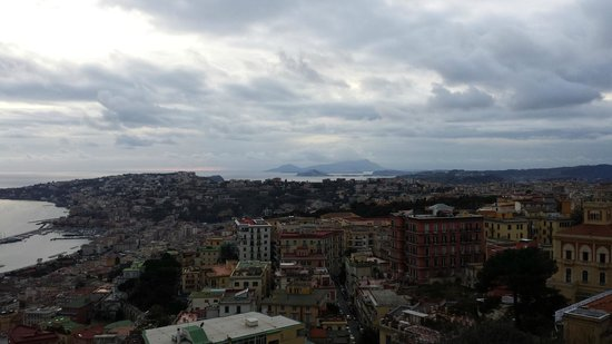 View from Castel Sant'Elmo, Naples
