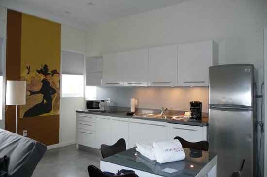 The Franklin Hotel: studio apartment