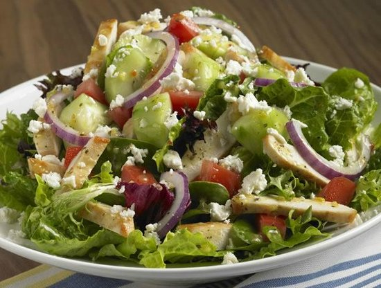 The Firehouse Cafe: Fresh Tossed Salads