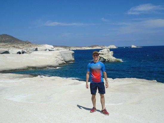 Santa Maria Village: Praia de Sarakiniko - Ilha de Milos