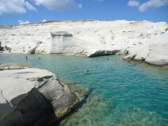 Santa Maria Village : Praia de Sarakiniko - Ilha de Milos