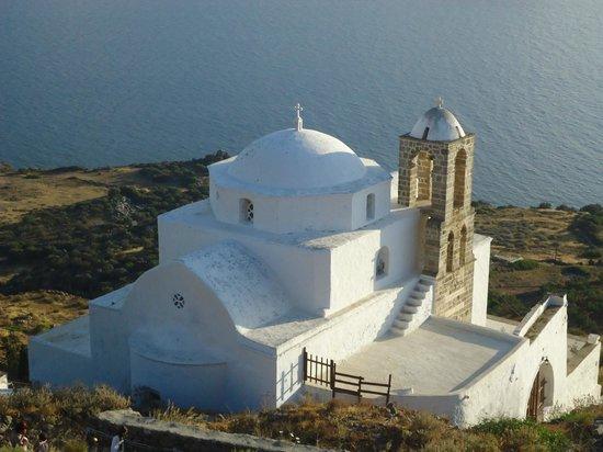 Santa Maria Village : Igreja em Plaka - Ilha de Milos