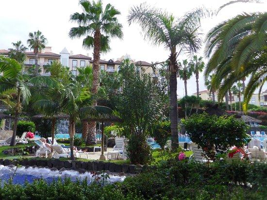Hotel Puerto Palace : Vue sur les piscines
