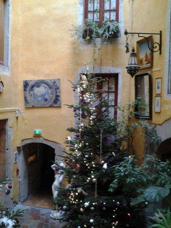 Hotel de l'Europe : patio central
