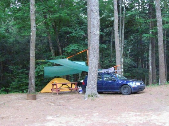 Old Orchard Beach Campground : Tenting area