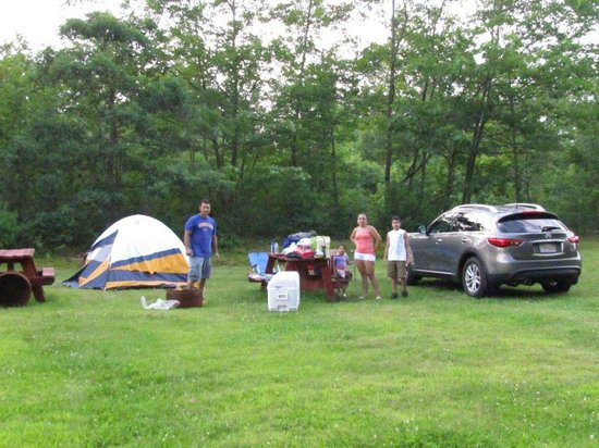 Old Orchard Beach Campground : Family camping trip