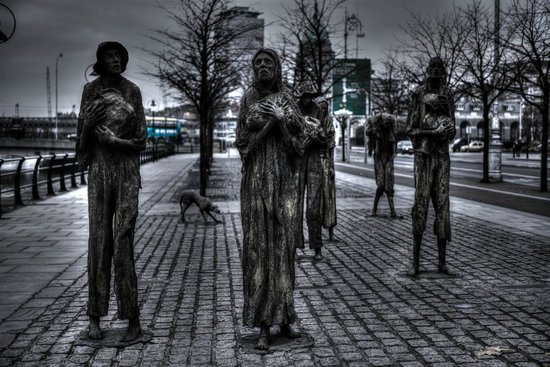 The Famine Sculptures: Famine Scupltures