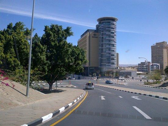 Hilton Windhoek: View of Hotel