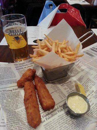 Le Comptoir: Fish & Chips