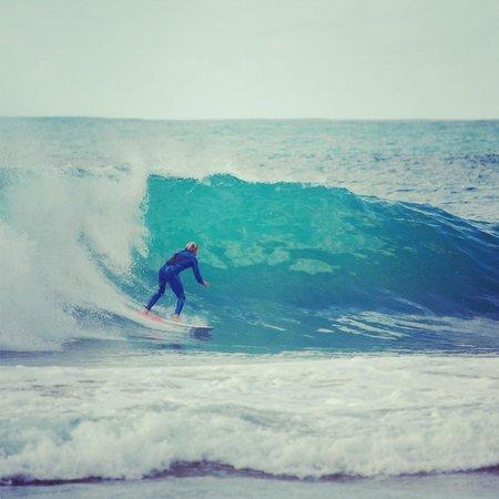 Sagres Time Apartamentos: The surf in Sagres is amazing :)