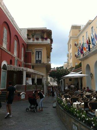 Via Camerelle a Capri