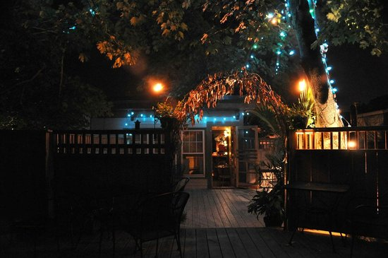 tree house deck at night picture of pat s meat market portland
