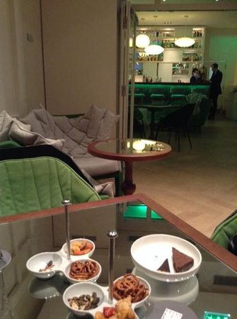 Bel Ami Hotel: This is taken from the bar area.  Again, the little touches of nibbles with drinks is appreciate