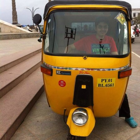 Lighthouse: Lets take you for a ride on the promenade ib my TUK TUK