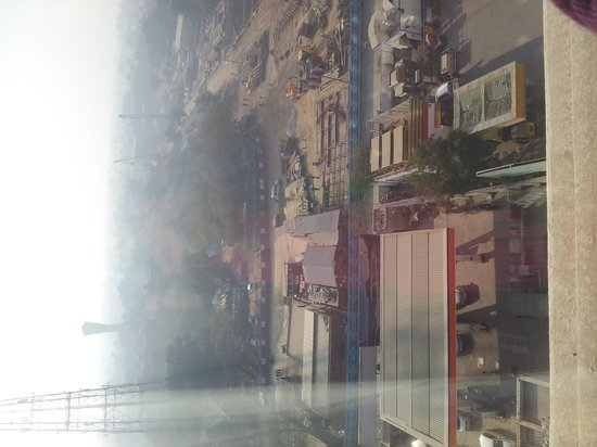 Piccadily Hotel New Delhi: View from the room