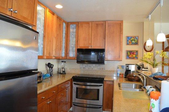 Wailua Bay View Condominiums: Full Kitchen #306