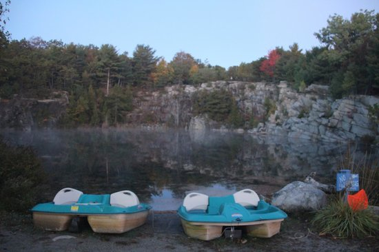 Somes Sound View Campground: Somes Sound View - Quarry & paddle boats
