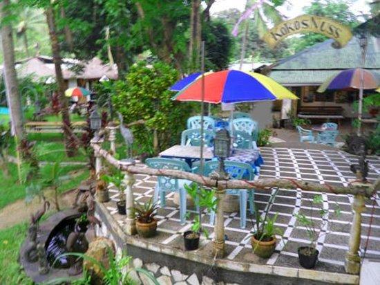 KokosNuss Garden Resort: the patio