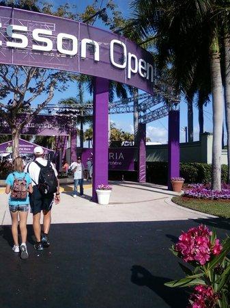 Crandon Park Tennis Center: Sony open tennis