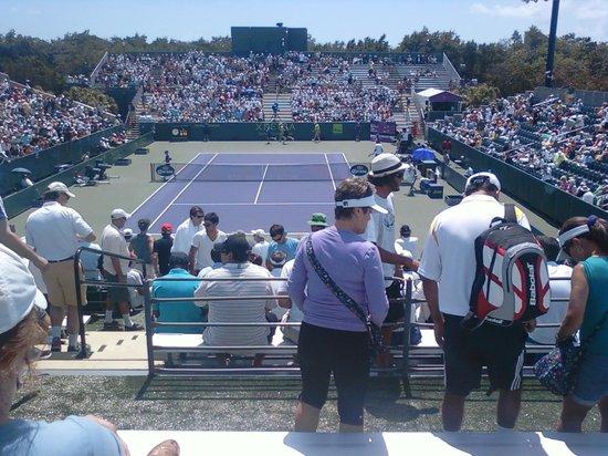 Crandon Park Tennis Center : Adjacent Court
