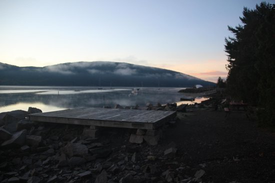 Somes Sound View Campground: Somes Sound View - Sunrise Campsite