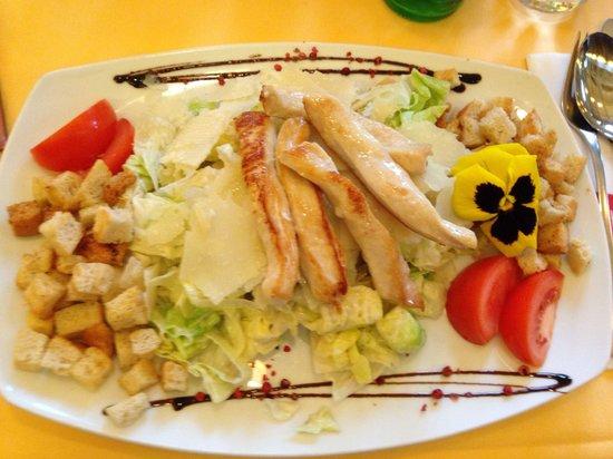 Restaurant Roth: Cesar salad