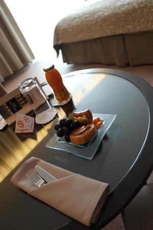 Austria Trend Hotel Savoyen Vienna: Nette Aufmerksamkeit