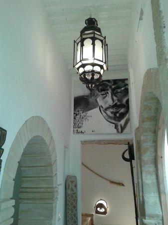 Riad Baladin : Communal hallway