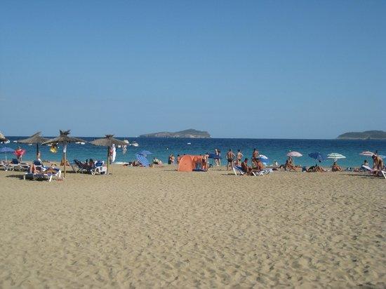Grupotel Cala San Vicente: Spiaggia davanti l'hotel