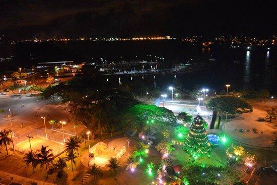 Canto Beach : Praça dos Namorados no Natal - Foto Ana Ciulada