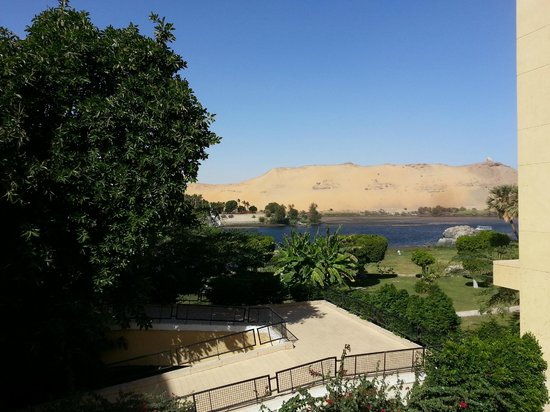Movenpick Resort Aswan: View from outside the room :-)