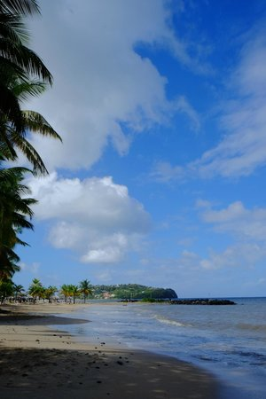 Rendezvous Resort : Beach to Castries
