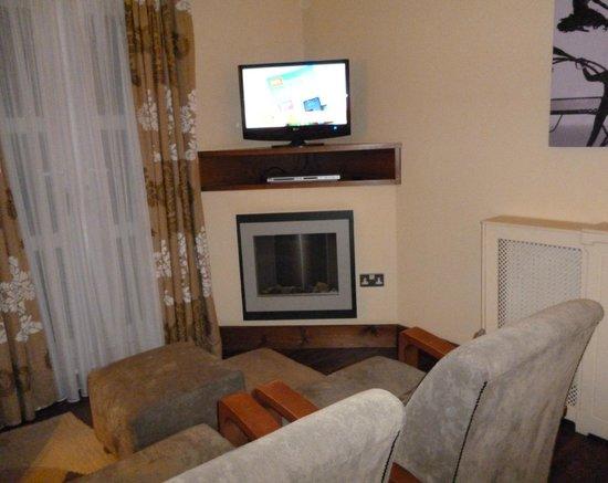 Big Blue Hotel : Lounge area