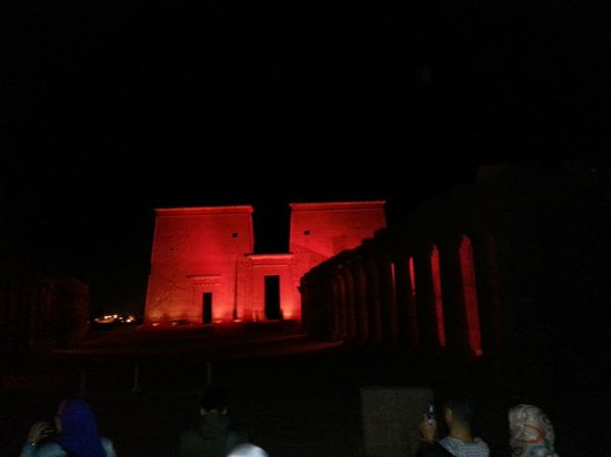 Sound and Light Show - Philae : Listening to the show