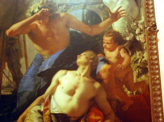 Museo Thyssen-Bornemisza: La mort de Hyacinthe. Tiepolo