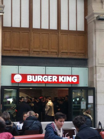 burger king paris saint lazare 13 rue d 39 amsterdm. Black Bedroom Furniture Sets. Home Design Ideas
