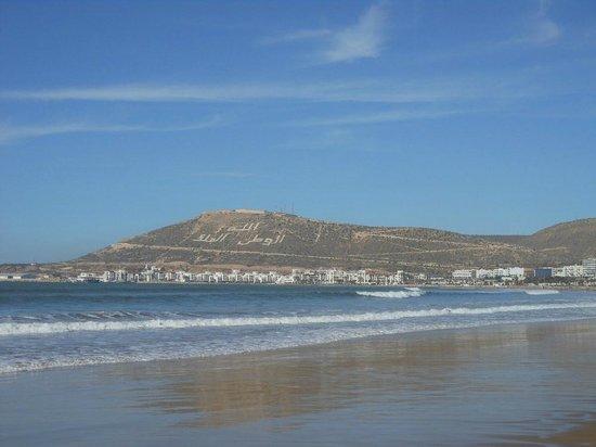 Club Marmara Agadir: Vue de la plage