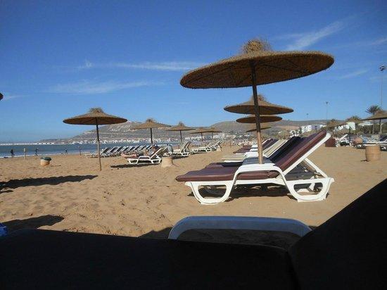 Club Marmara Agadir: plage privée hotel