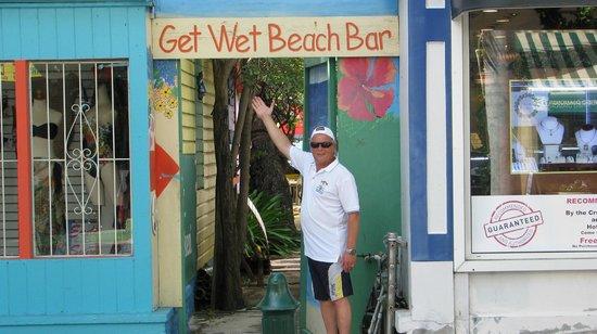 The Get Wet Bar: Front st entrance