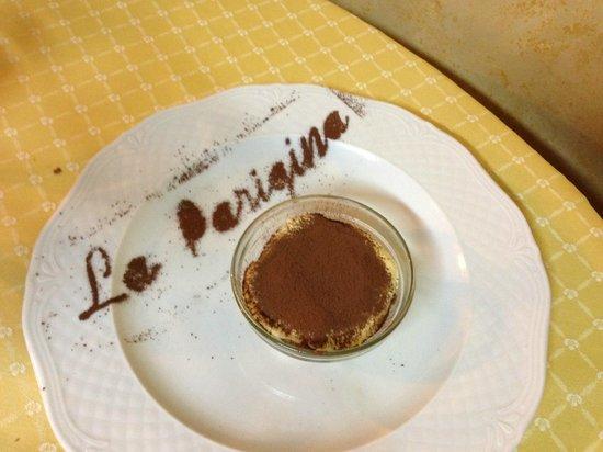 Osteria La Parigina: Tiramisù