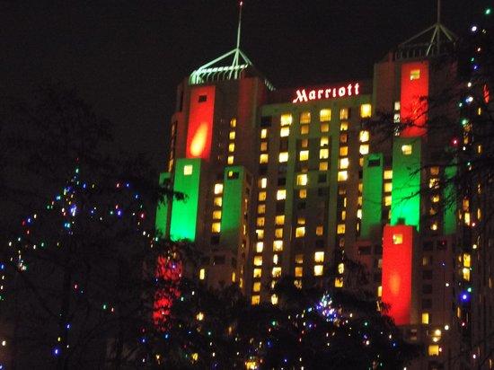 San Antonio Marriott Rivercenter: Our New Home!