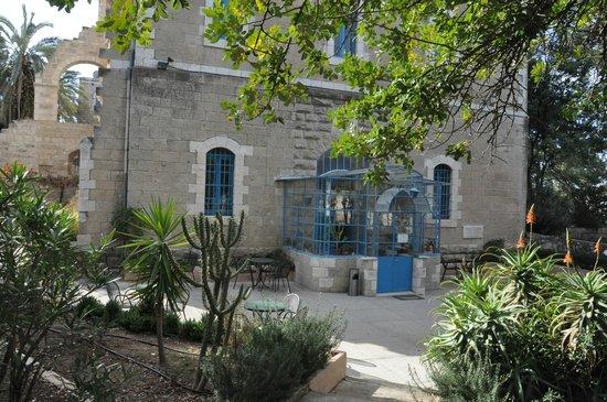 La Maison d'Abraham: l'entrée