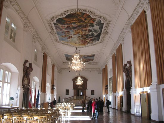 Residenzgalerie Salzburg: volta decorata in un salone della residenz