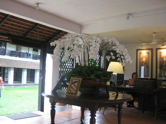 Tamarind Village : Reception area