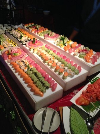 Four Seasons Resort Mauritius at Anahita: Sushi-Buffet