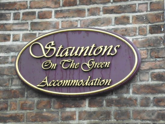 Stauntons on the Green : Placa hotel