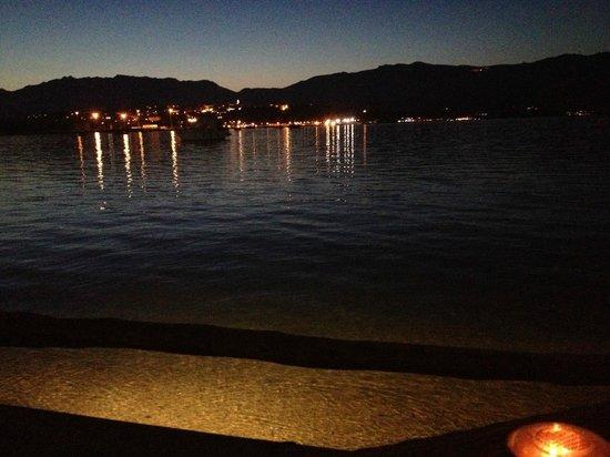 Hôtel Le Belvédère : La baie de Porto Vecchio