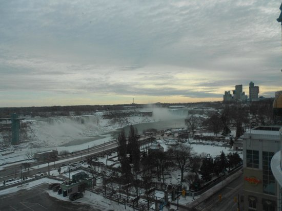 Crowne Plaza Niagara Falls - Fallsview : View from the Room