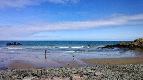 Camping Les Roches : la plage